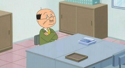 【朗報】波平さん、窓際じゃなくてちゃんと仕事があった!