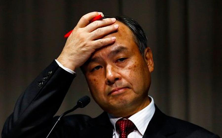 【悲報】孫正義さん、ソフトバンク株40%が担保になってしまう