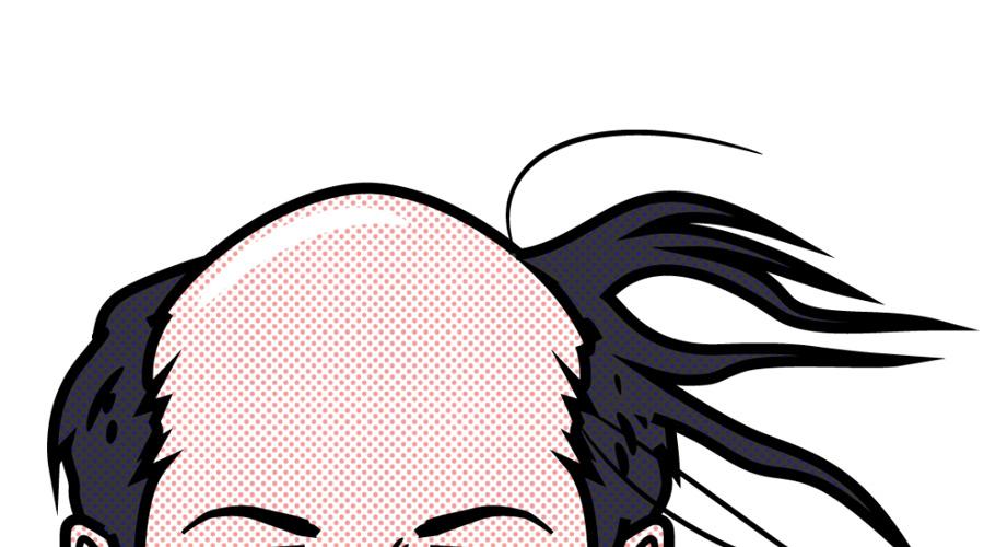 ハ→ゲ 完成で>>5が自分の髪の毛全部むしり取ってうpするぞ!
