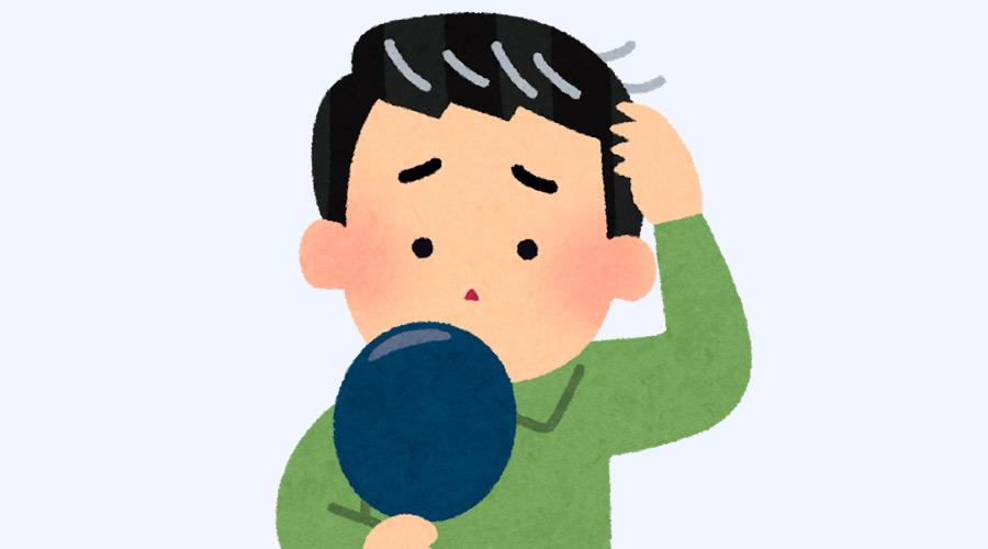 【悲報】ワイ(24)、白髪が多すぎてツライ