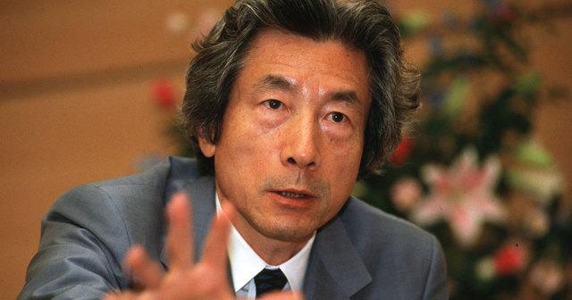 ここで最新の小泉純一郎元総理(78)のお姿をご覧下さい