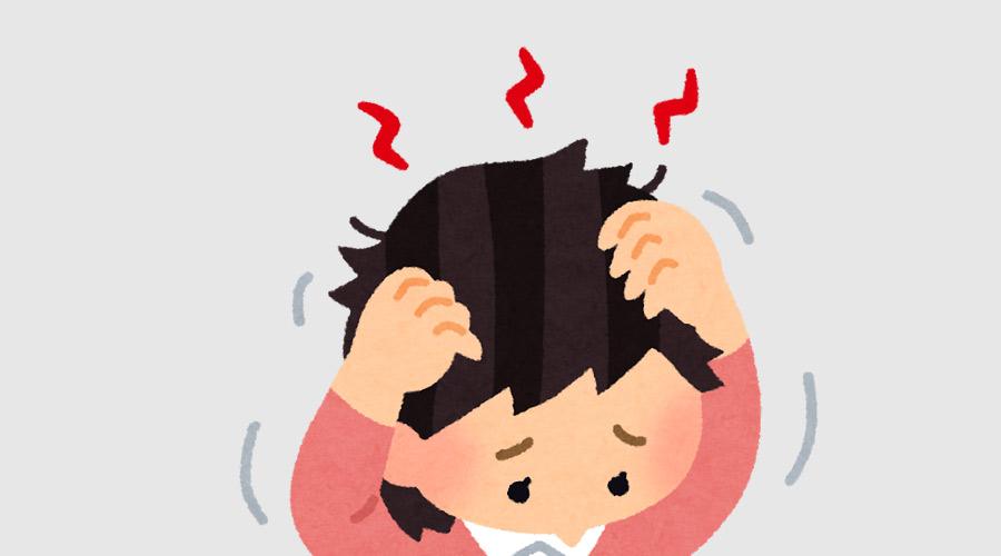 【悲報】JSさん、コロナのストレスで自分の髪を抜いてしまう(画像あり)