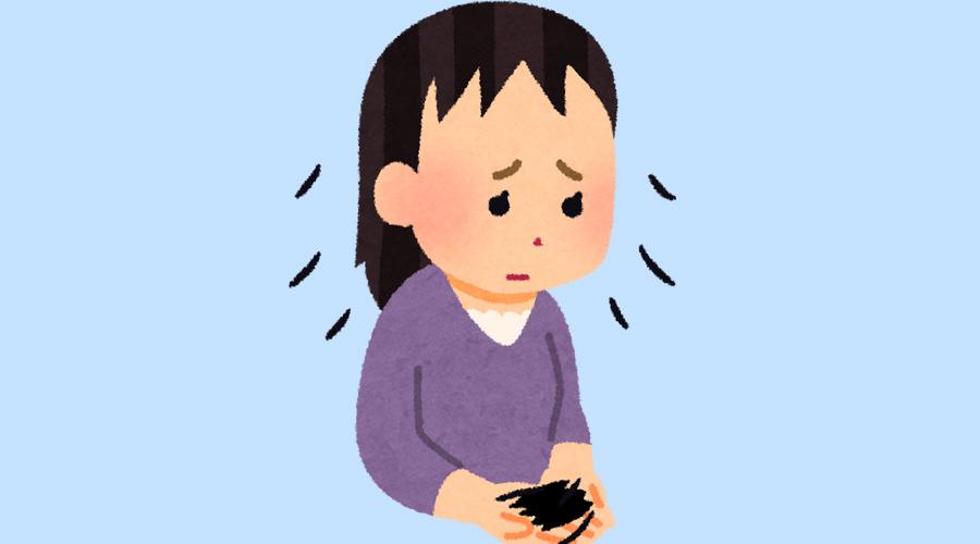 【超悲報】コロナ後遺症、女性もハゲる事が判明する!!!