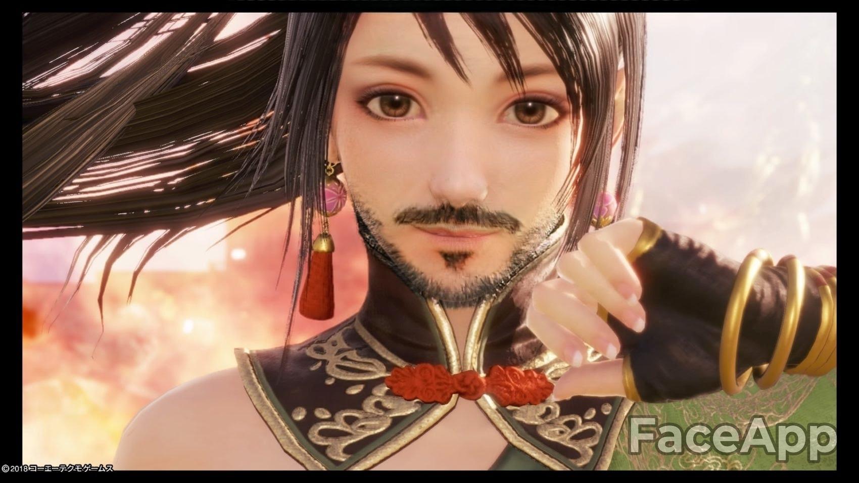 【超画像】FaceAppで女の画像に髭生やすの楽しすぎワロタwww