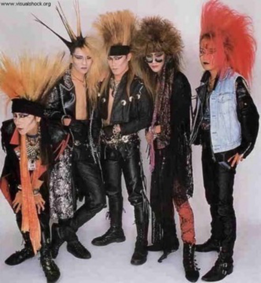 【画像】昔の X JAPAN の髪型ナニコレwww