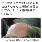 【緊急急募】ハゲの治し方