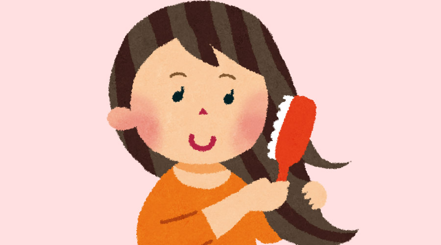 女の髪の毛は5年分あるという事実