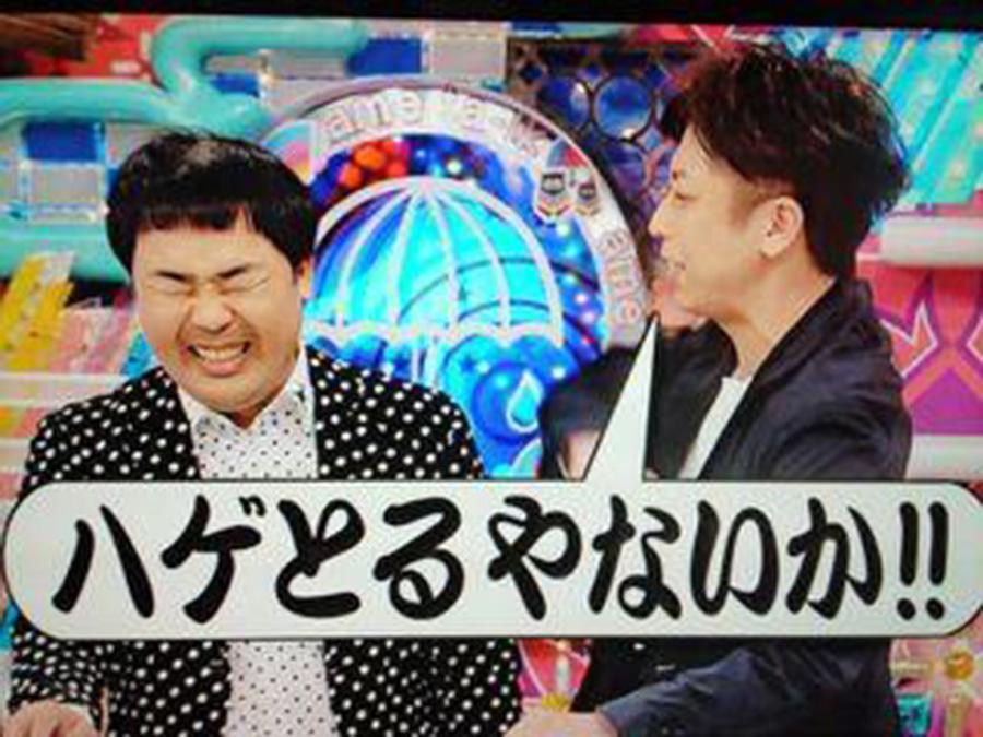 芸人「いやハゲてもうてるやないかい(バシッ」 ワイ「はぁ…(テレビケシー」