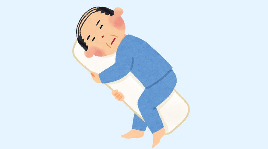 朝起きると枕カバーに髪の毛が7、8本付いてる