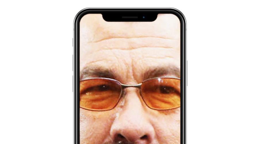 iPhoneの「M字ハゲ」はダサい!パンチホールにしろ!!