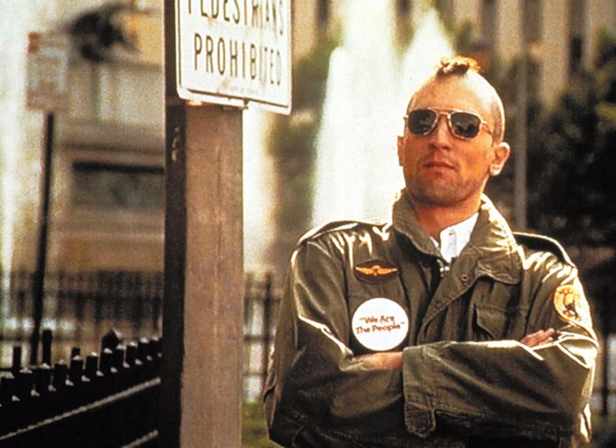 タクシードライバーでロバート・デ・ニーロのモヒカンがカツラだって知った時はショックだったよな?