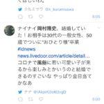 岡村隆史「結婚しました」世間「おめでとう!」