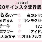 【悲報】10~20代女子の流行語大賞第3位がとんでもないと話題に(画像あり)