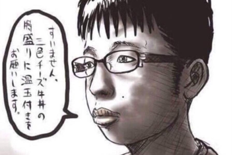 【超画像】チー牛さん、メガネを外して髪を整えるだけで大変身