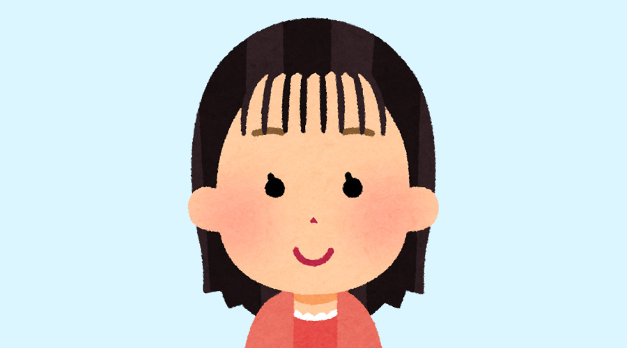 最近の女の子のスッカスカスカの前髪さぁwww
