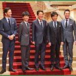 TOKIO(5人編成、イケメンでキャラ濃い、冠番組多数)←これがSMAPの後継者になれない理由