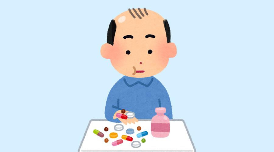 【ハゲ速報】ワイ、ハゲ薬飲み始めて4ヶ月目、頭が!頭が!!