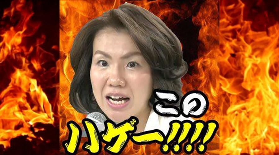 【画像】「このハゲー」の豊田真由子さんのパンチラ