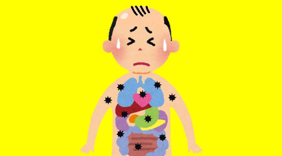 3大人体の欠陥「癌」「急激な便意」