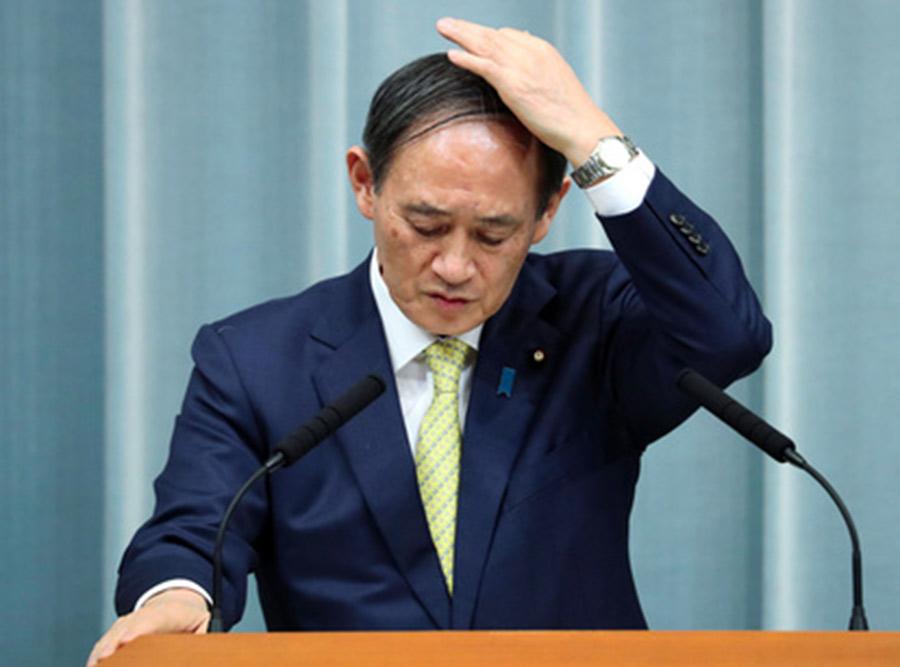 【スダレ悲報】菅義偉さん、「ハゲは無能」だと証明してしまう