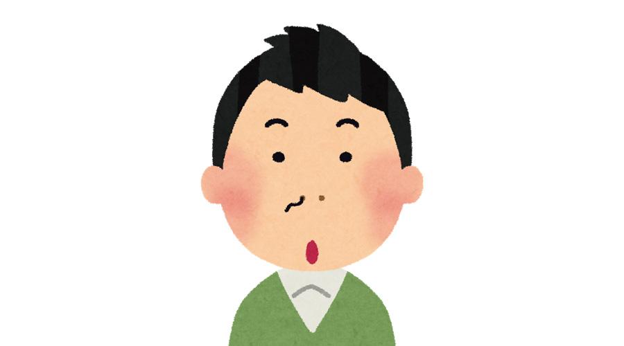 【鼻毛速報】とんでもない「鼻毛」を持つなんJ民が降臨!!!(画像あり)