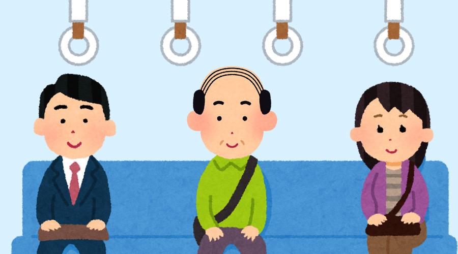 【ハゲ速報】今電車でハゲがなんJ見ててワロタニエンwww