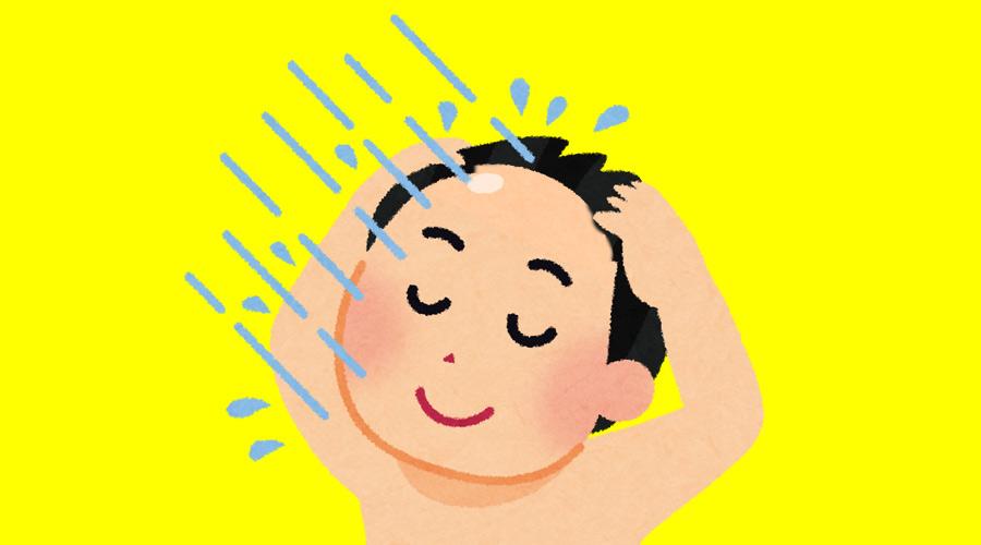 【ハゲ速報】ワイガチハゲ、シャンプーをやめて湯シャンにした結果