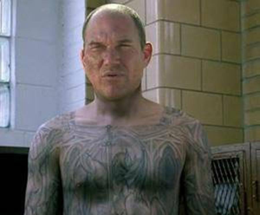【超画像】とんでもないタトゥーを入れたマンさんが発見される!!!