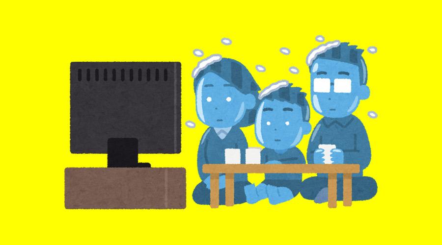 【ハゲ速報】テレビでとんでもない「煮玉子」が映り込む放送事故(画像あり)