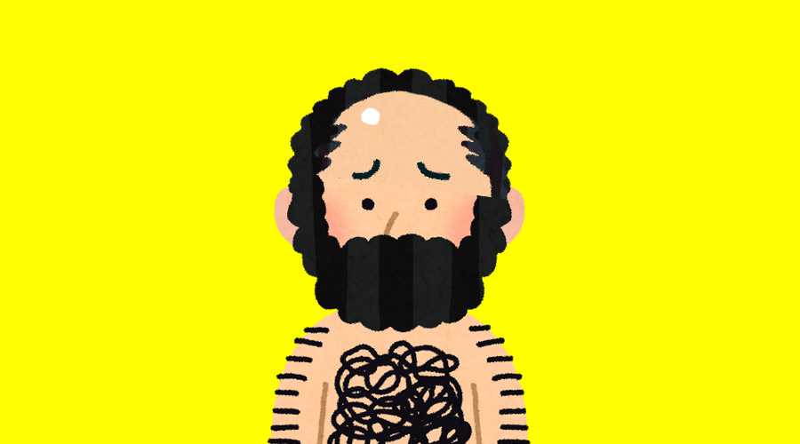 【超悲報】まるっと一年間「髭」を剃らなかった結果