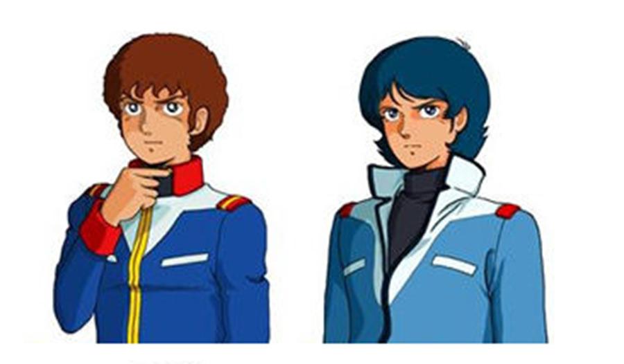弟がアムロみたいな髪型でワイはカミーユみたいな髪型なんだが?