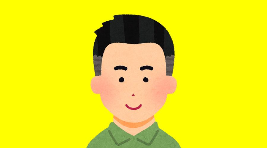 【超画像】こういう髪型の男、大っ嫌いなんだけど?