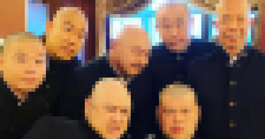 【超画像】ハゲ芸人、モザイク入れたら誰が誰だか見分けつかない説