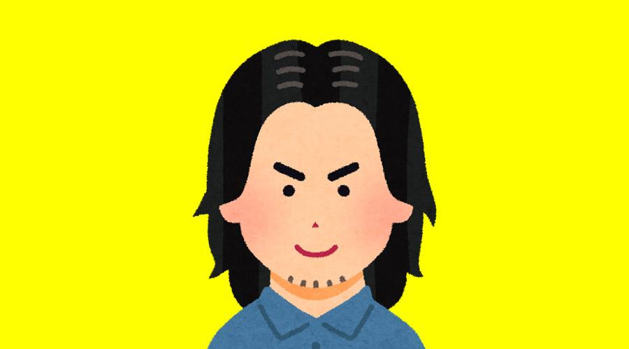 【超画像】男性の髪型「センターパート」が大流行してしまうwww